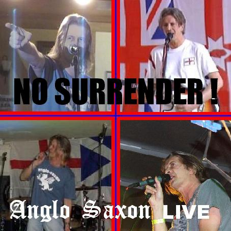 NO SURRENDER album sleeve